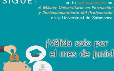SIGUE-e te ofrece una excelente promoción con la Universidad de Salamanca
