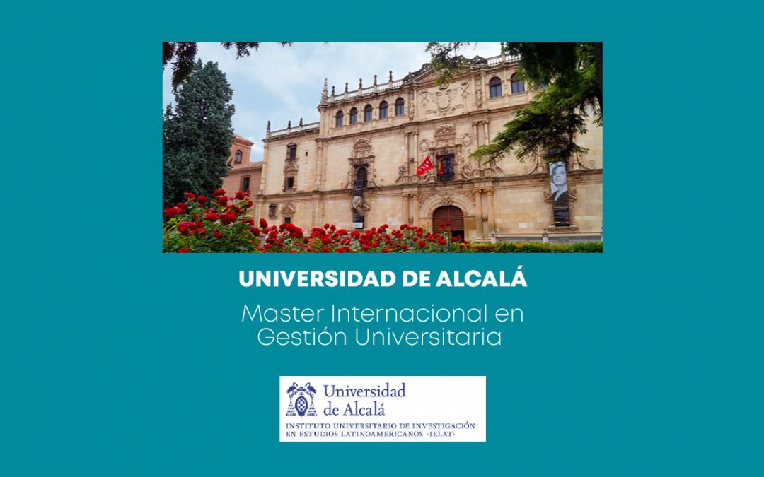 Convocatoria Semestre Octubre 2021- Febrero 2022 – Universidad de Alcalá – España