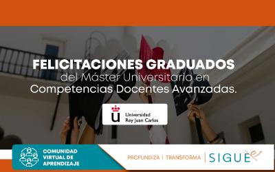 Ceremonia de Graduación de la promoción 2018-2019 Universidad Rey Juan Carlos