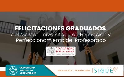 Ceremonia de Graduación promoción 2018-2019 y 2019-2020 Universidad de Salamanca