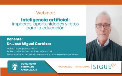 Conoce sobre la Inteligencia artificial, impactos, oportunidades y retos.