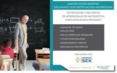 ¡ Inscripciones abiertas ! Diplomado con Certificación Universitaria por UISEK