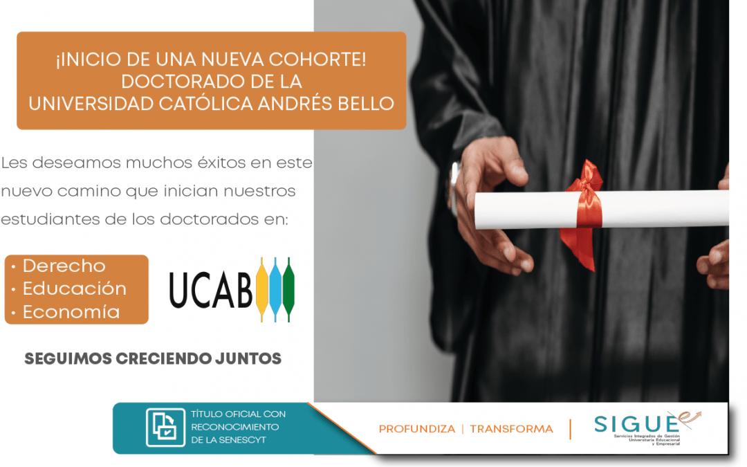 ¡ Inicio de semestre B-2021 ! en la Universidad Católica Andrés Bello de Venezuela